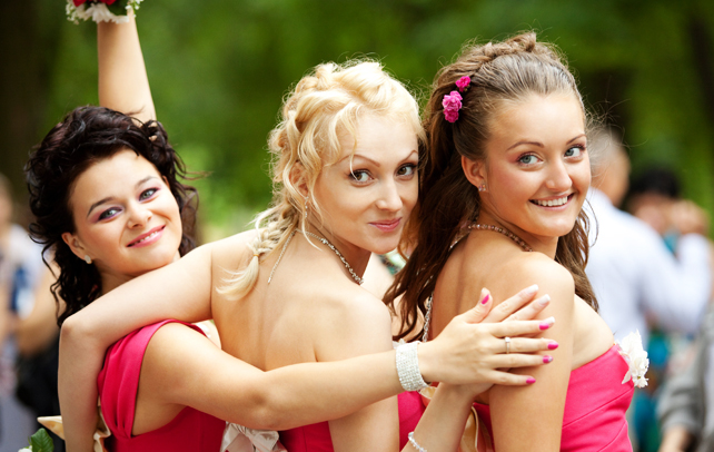 hairstyles for bridesmaid