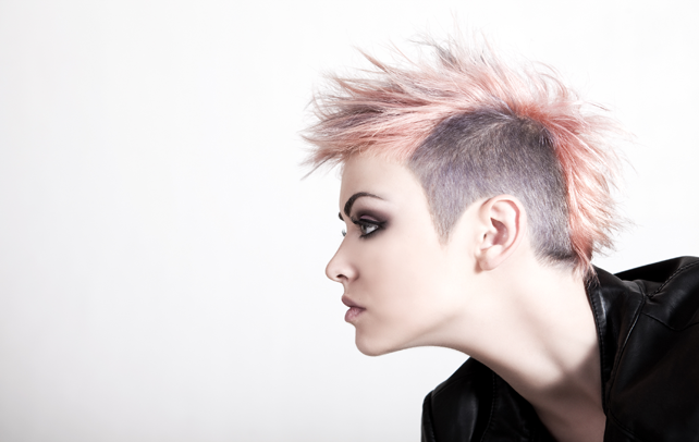 Punk Girls Hairstyles